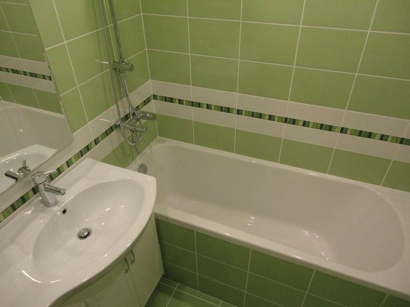 Ремонт ванной комнаты плиткой фото